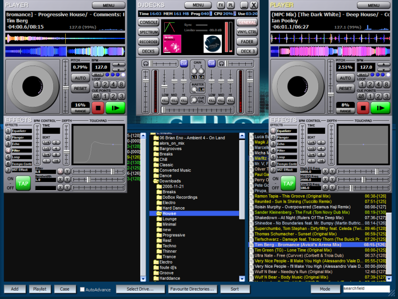 Click to view djDecks screenshots
